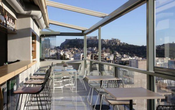 Hotel met prachtig uitzicht Athene