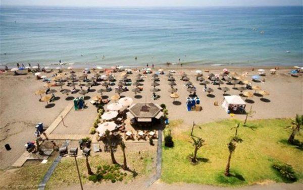 Zonnen aan de Costa del Sol