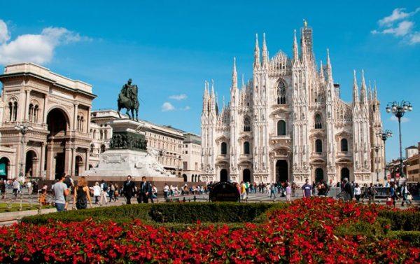 Voordelig naar Milaan