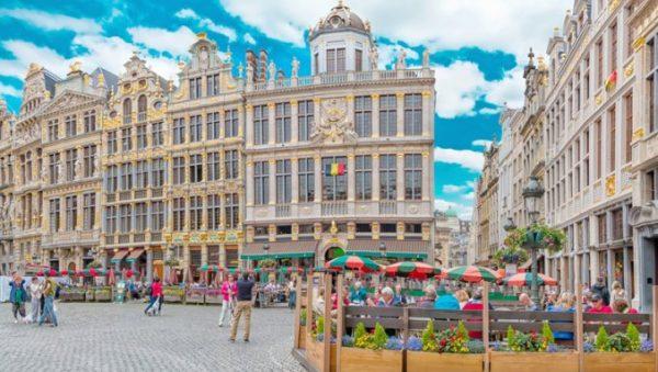 Bezoek gezellig Brussel