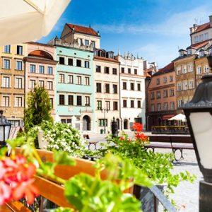 Ontdek historisch Warschau