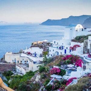 Heerlijk genieten op Santorini