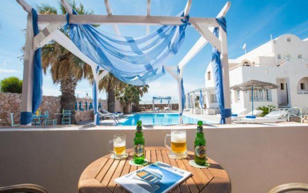 Tophotel op Santorini!