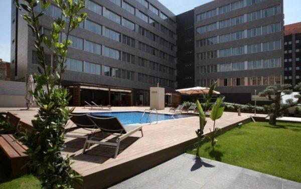 Tophotel in hartje Barcelona
