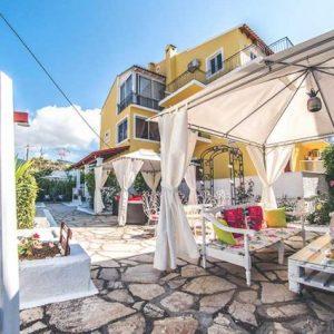 Uniek verblijf op Corfu