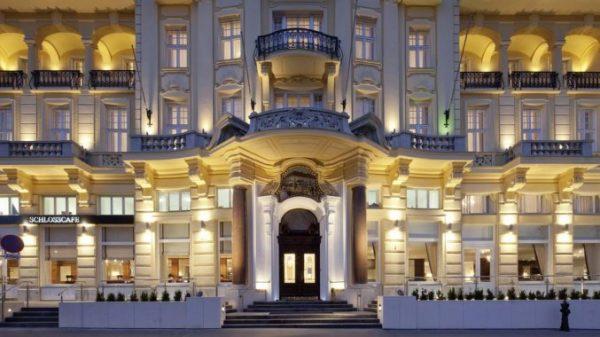 Historisch hotel Wenen