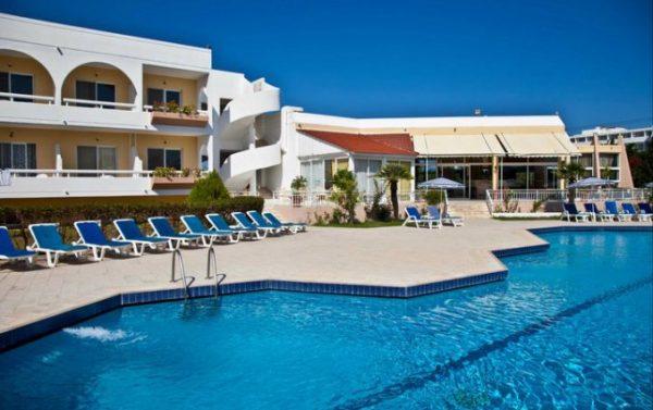 Heerlijk hotel op Rhodos