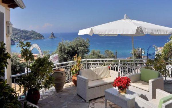 Genieten aan zee op Corfu