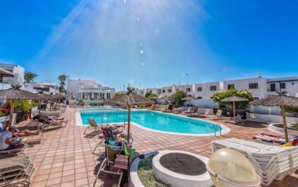 Naar de zon op Lanzarote