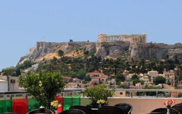 Genieten in Athene