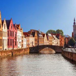 5/6-daagse fietsreis Brugge Stad en Strand