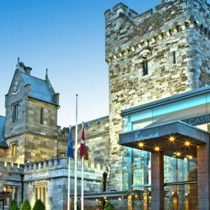 11e-eeuws kasteel in Dublin
