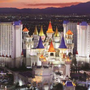 Verblijf in een kasteel midden in Vegas!