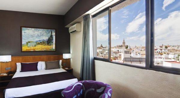 Prachtig uitzicht over Sevilla