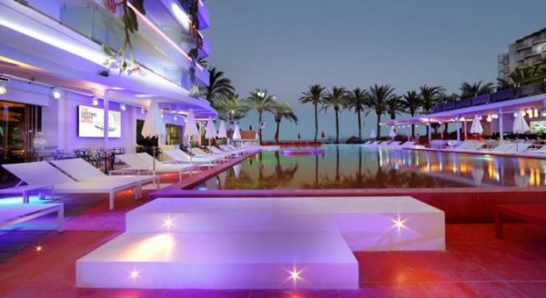 Wereldberoemd hotel Ibiza