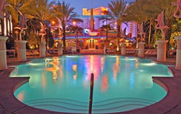 Uniek hotel in Flamingo sferen